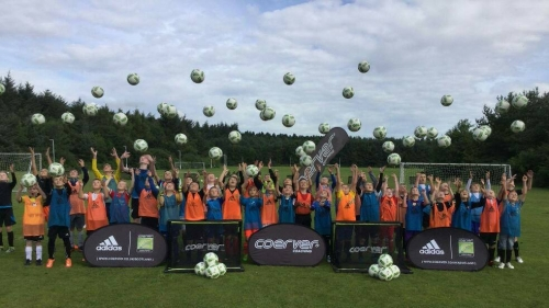 First ever Coerver Coaching Camp in Glenrothes Fife